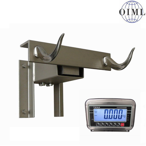 LESAK N1TH2NBWS150, 150kg/50g (Příjmová váha pro řezníky a prodejny masa do 150kg s nerezovou jednotkou)