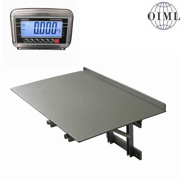 LESAK N1T-PSN, 150kg/50g, 400mmx600mm (Obchodní váha pro příjem nebo expedici zboží pro uchycení na stěnu)