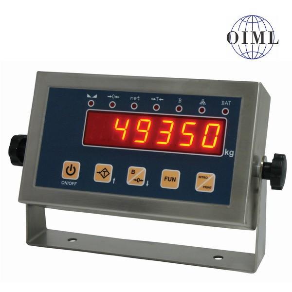 SENSOCAR SC-MIN, IP-54, nerez, LED (Vážní indikátor pro rychlé a přesné obchodní vážení)