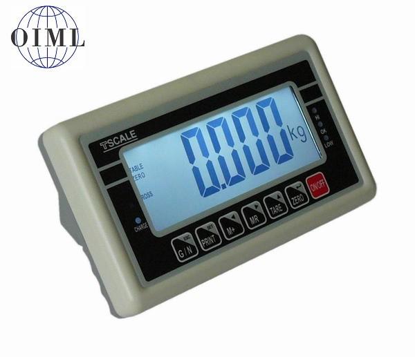 TSCALE BW, IP-54, plast, LCD (Vážní indikátor pro obchodní vážení)