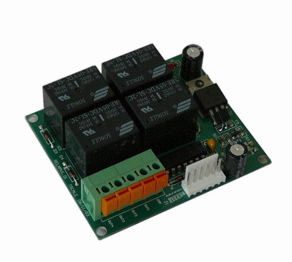 TSCALE QHW REL, IP-54 (Reléový přídavný modul osazený 4.relátky pro spínání ovládacích zařízení)