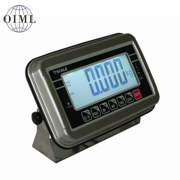 TSCALE BWS, IP-65, nerez, LCD (Vážní indikátor pro obchodní vážení)