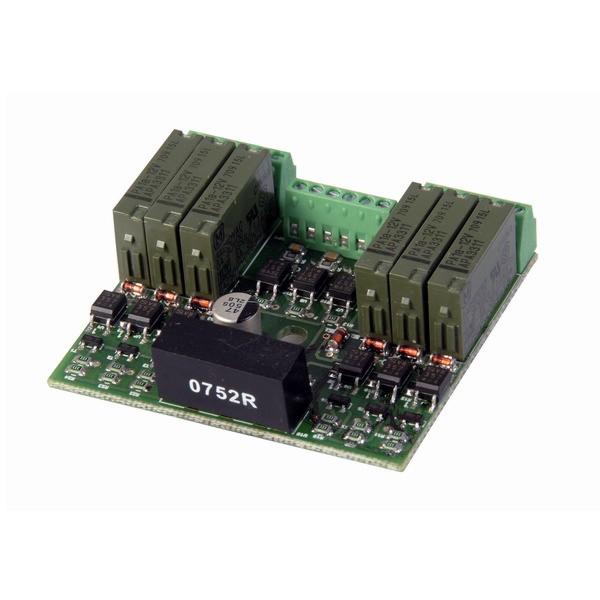 SENSOCAR AD/RELES P (Reléový přídavný modul osazený 6.relátky pro spínání ovládacích zařízení)
