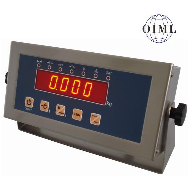 SENSOCAR SC1, IP-54, nerez, LED (Vážní indikátor pro rychlé a přesné obchodní vážení)