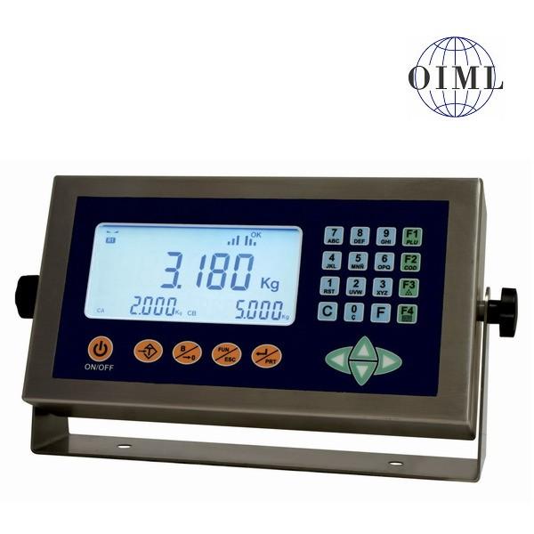 SENSOCAR SC10, IP-54, nerez, LCD (Vážní indikátor pro rychlé a přesné obchodní vážení)