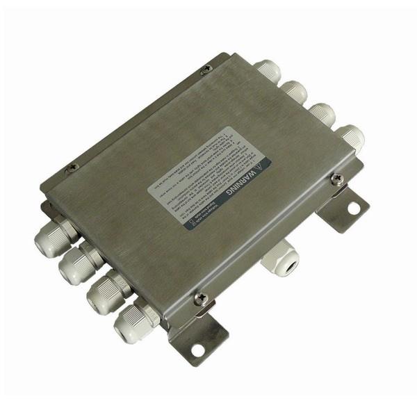 LESAK JXHN8, IP-66, nerez (Nerezová sdružovací krabice pro 8 snímačů JXHN8)