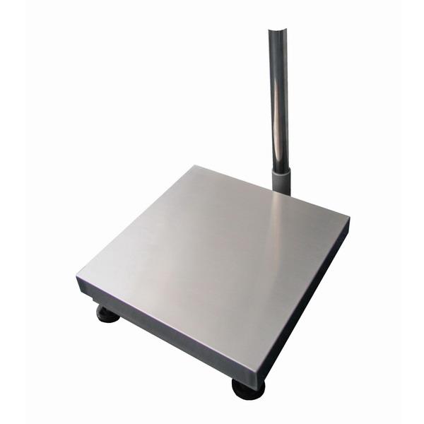 LESAK 1T5050LN, 60kg, 500mmx500mm, l/n (Vážní můstek v lakovaném provedení s nerezovým plechem bez vážního indikátoru)