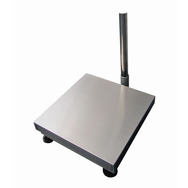 LESAK 1T5050LN, 150kg, 500mmx500mm, l/n (Vážní můstek v lakovaném provedení s nerezovým plechem bez vážního indikátoru)