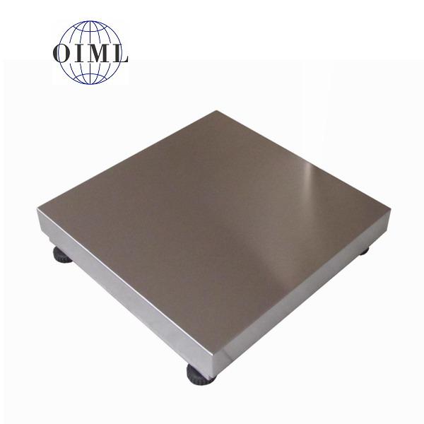 LESAK 1T6060NN, 60kg, 600mmx600mm, nerez (Vážní můstek v nerezovém provedení bez vážního indikátoru)