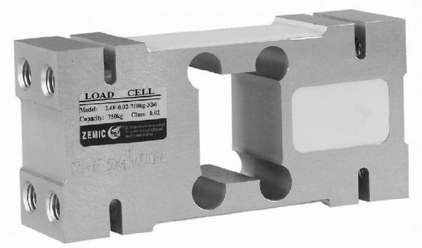 ZEMIC L6F, 50kg, IP-65, hliník (Tenzometrický snímač zatížení pro středové zatížení ZEMIC model L6F)