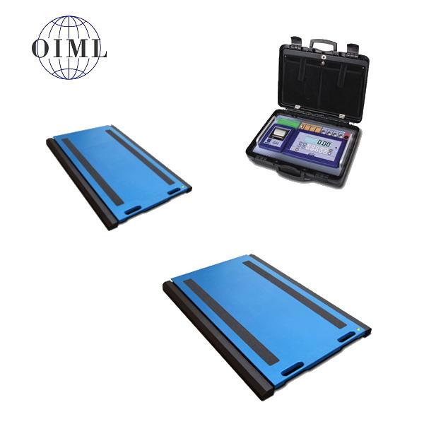 DINI ARGEO WWSE, 30t/10kg, 700mmx450mm (Přenosná vážící platforma pro zjištění zatížení kol nebo náprav soupravy)