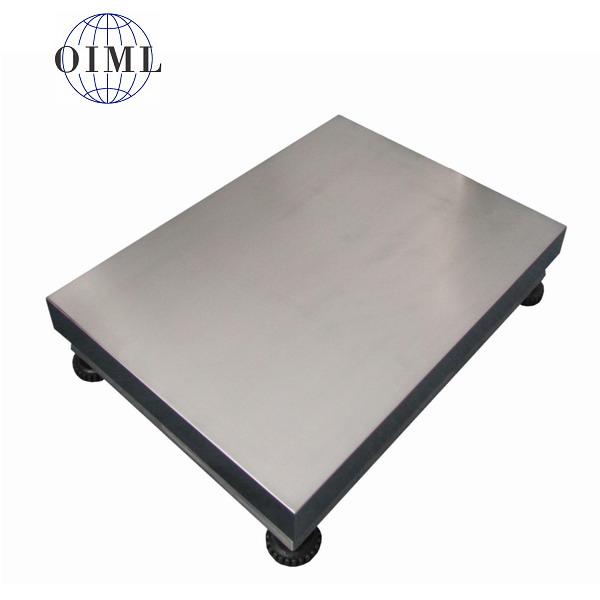 LESAK 1T4560NN, 300kg, 450mmx600mm, nerez (Vážní můstek v nerezovém provedení bez vážního indikátoru)
