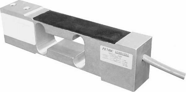 ZEMIC L6N, 50kg, IP-65, hliník (Tenzometrický snímač zatížení pro středové zatížení ZEMIC model L6N)